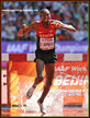 Conseslus KIPRUTO - Kenya - Silver medals at 2013 & 2015 World Champs steeplechase