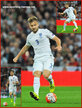 Luke SHAW - England - 2016 European Football Championships qualifying matches.