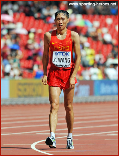 Zhen WANG - China - 2016 Olympic Gold & 2015 World Championships silver.