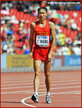 Zhen WANG - China - Second in 20k walk at Beijing World Championships.