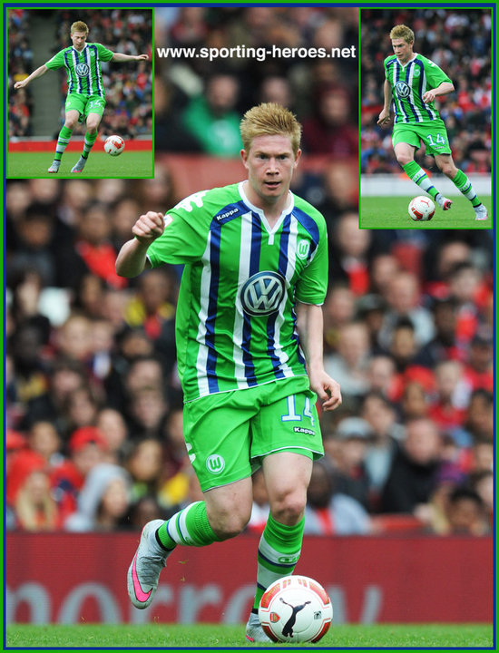 info for e672d 12fe4 Kevin De BRUYNE - League apperances - VFL Wolfsburg