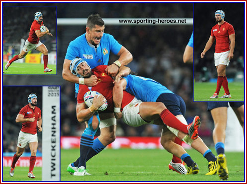Alexandre DUMOULIN - France - 2015 Rugby World Cup.