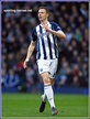 Jonny EVANS - West Bromwich Albion FC - League Appearances