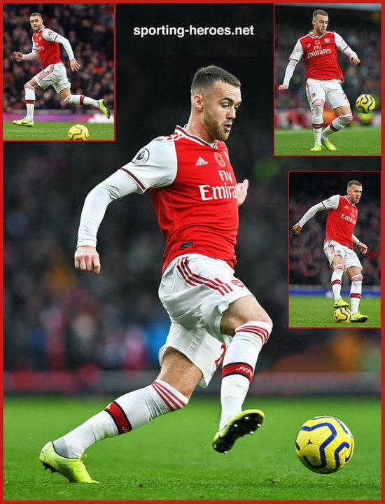 Calum CHAMBERS - Premiership Appearances - Arsenal FC