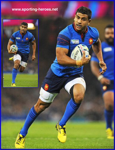 Wesley FOFANA - France - 2015 Rugby World Cup.