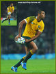 Kurtley BEALE - Australia - 2015 Rugby World Cup.