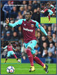 Pedro OBIANG - West Ham United FC - Premiership Appearances