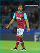 Dimitri PAYET - West Ham United FC - Premiership Appearances