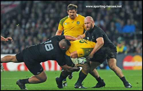 Ben FRANKS - New Zealand - 2015 Rugby World Cup.