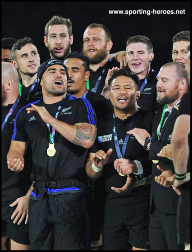 Keven Mealamu - New Zealand - 2015 Rugby World Cup.