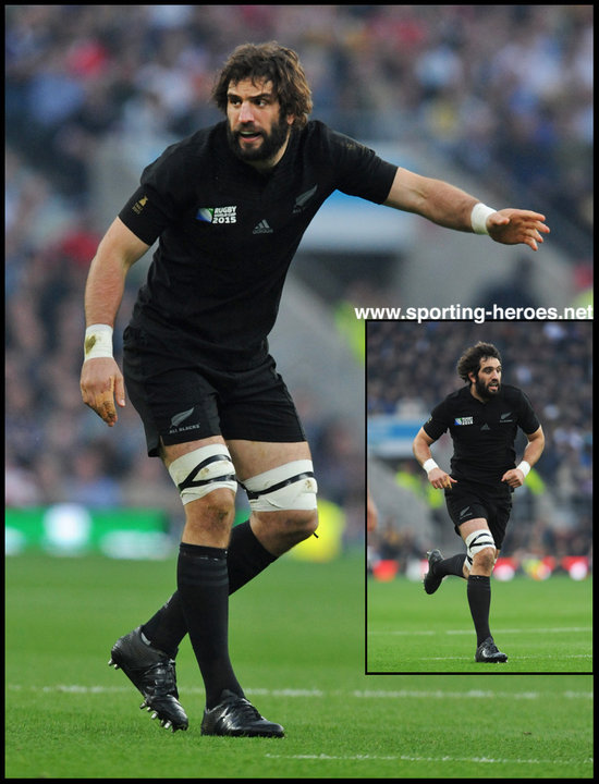 Sam Whitelock - New Zealand - 2015 World Cup Final & Semi Final.