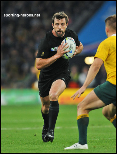 Conrad Smith - New Zealand - 2015 Final & Semi Final Rugby World Cup.