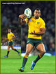 Kurtley BEALE - Australia - 2015 World Cup Final & Semi Final.