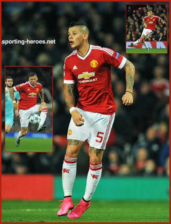 Marcos ROJO - 2015/2016 Champions League. - Manchester United FC