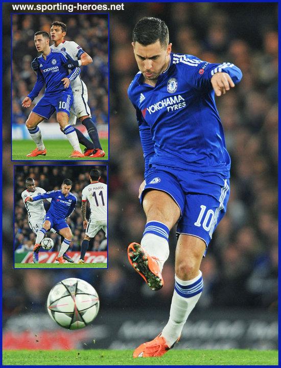 Eden HAZARD - 2015 16 Champions League. - Chelsea FC 646afa8e3