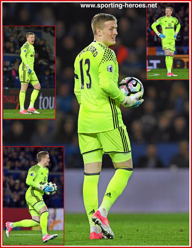 Jordan PICKFORD - Sunderland FC - Premiership Appearances