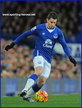 Bryan OVIEDO - Everton FC - Premiership Appearances