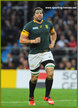 Willem ALBERTS - South Africa - 2015 World Cup semi final & bronze medal final.