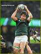 Lood de JAGER - South Africa - 2015 World Cup semi final & bronze medal final.