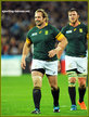 Jannie DU PLESSIS - South Africa - 2015 World Cup semi final & bronze medal final.