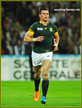 Jesse KRIEL - South Africa - 2015 World Cup semi final & bronze medal final.