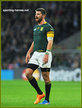 Willie Le ROUX - South Africa - 2015 World Cup semi final & bronze medal final.