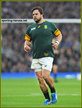 Frans MALHERBE - South Africa - 2015 World Cup semi final & bronze medal final.
