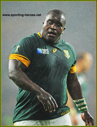 Trevor NYAKANE - South Africa - 2015 World Cup semi final & bronze medal final.