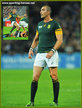 Ruan PIENAAR - South Africa - 2015 World Cup semi final & bronze medal final.
