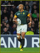 JP PIETERSEN - South Africa - 2015 World Cup semi final & bronze medal final.