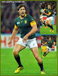 Jan SERFONTEIN - South Africa - 2015 World Cup semi final & bronze medal final.