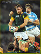 Duane VERMEULEN - South Africa - 2015 World Cup semi final & bronze medal final.