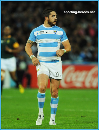 Horacio Agulla - Argentina - 2015 World Cup Rugby bronze medal final.
