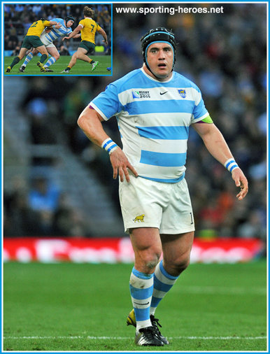 Marcos AYERZA - Argentina - 2015 World Cup semi final & bronze medal final.