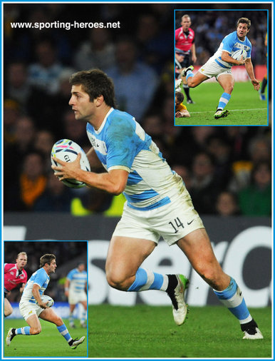 Santiago CORDERO - Argentina - 2015 World Cup semi final & bronze medal final.