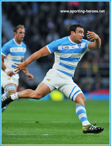 Agustin CREEVY - Argentina - 2015 Rugby World Cup semi final.