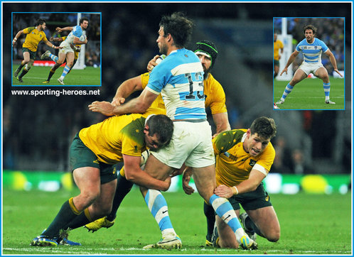 Marcelo BOSCH - Argentina - 2015 Rugby World Cup finals.
