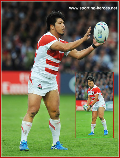 Shota HORIE - Japan - 2015 Rugby World Cup.