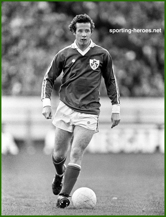 6fff44093f7 Liam BRADY - International appearance for Ireland - Ireland.