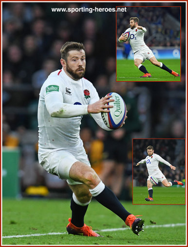 Elliot DALY - England - International Rugby Union Caps.