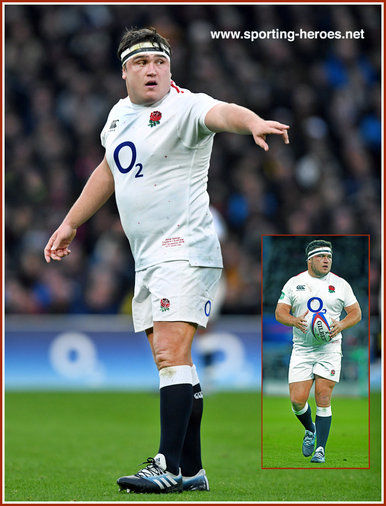 Jamie GEORGE - England - International Rugby Union Caps.