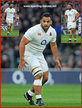 Billy VUNIPOLA - England - 2016 Six Nations Grand Slam games.