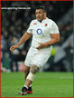 Mako VUNIPOLA - England - 2016 Six Nations Grand Slam games.