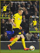 Matthias GINTER - Borussia Dortmund - 2016 Europa League. Knock out games.