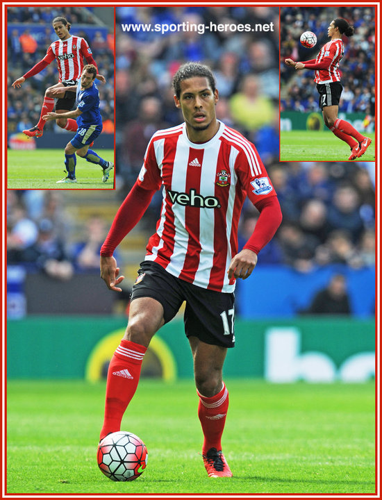 Virgil Van Dijk Premiership Appearances Southampton Fc