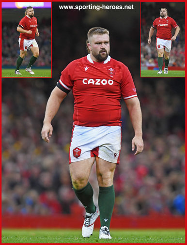 Tomas FRANCIS - Wales - International Rugby Union Caps for Wales.