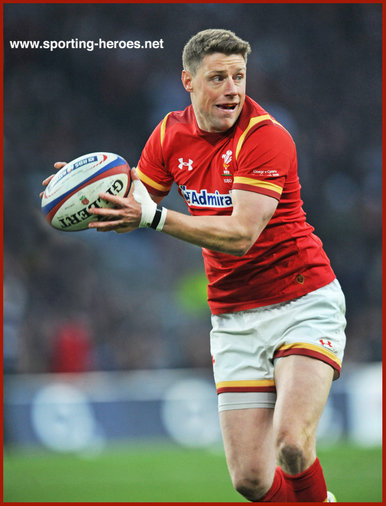 Rhys PRIESTLAND - Wales - International Rugby Union Caps 2016 - 2017.