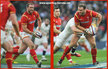 Jamie ROBERTS - Wales - International Rugby Union Caps 2016-