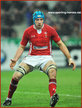 Justin TIPURIC - Wales - International Rugby Union Caps 2011-2014.