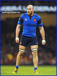 Antoine BURBAN - France - International Rugby Union Caps.